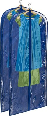 Honey-Can-Do Honey-Can-Do 2-Pack Suit Bag Navy - Honey-Can-Do Garment Bags