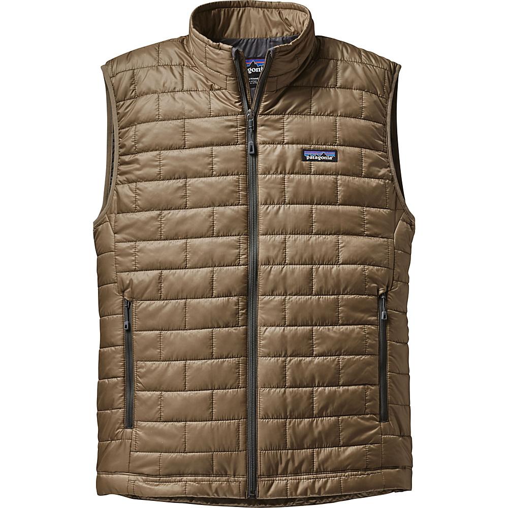 Patagonia Mens Nano Puff Vest XS - Ash Tan - Patagonia Mens Apparel - Apparel & Footwear, Men's Apparel