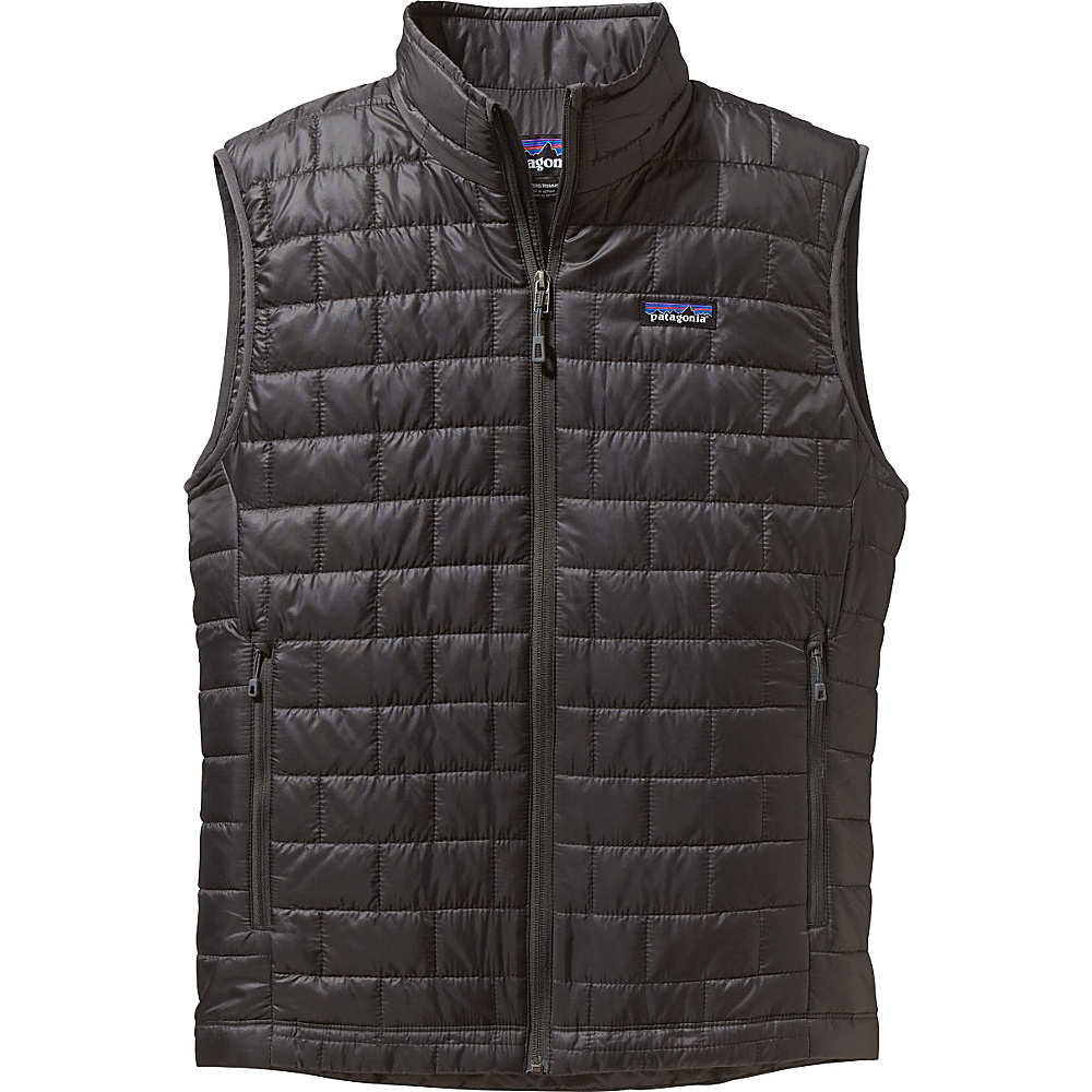 Patagonia Mens Nano Puff Vest S - Forge Grey - Patagonia Mens Apparel - Apparel & Footwear, Men's Apparel