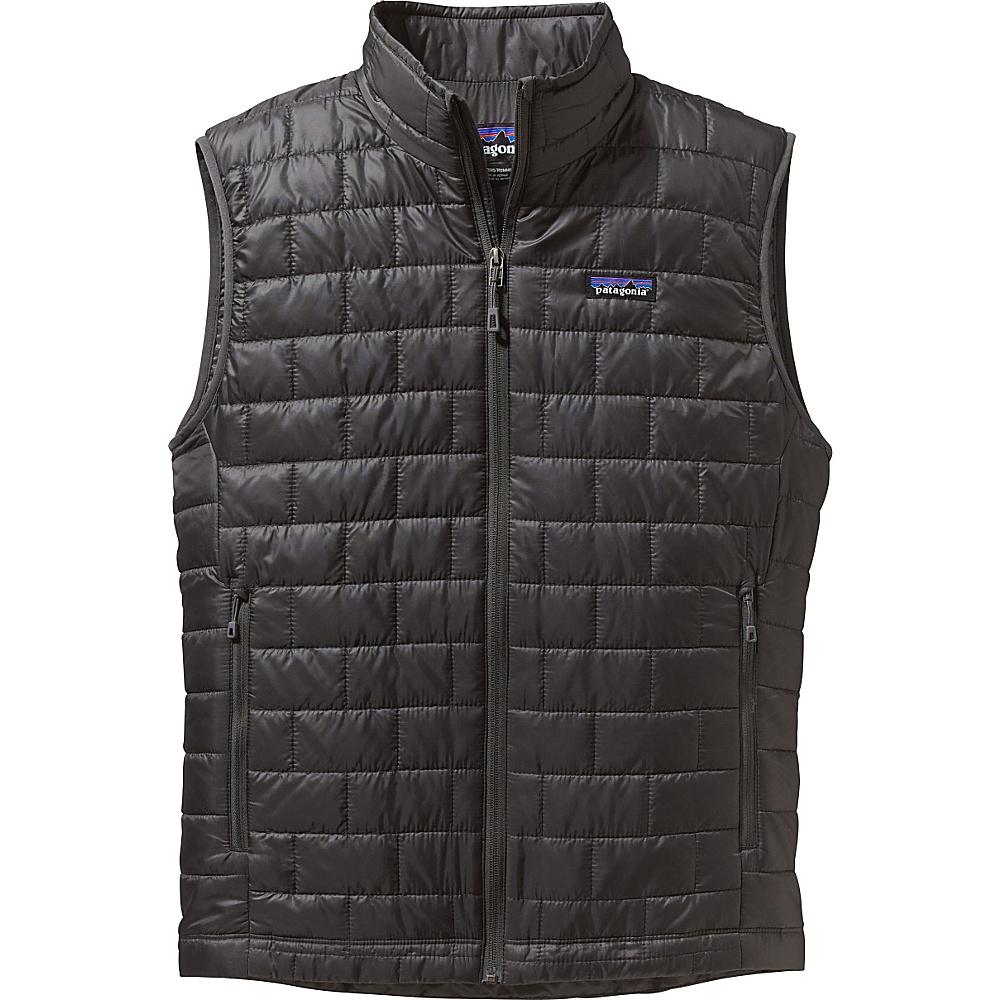 Patagonia Mens Nano Puff Vest M - Forge Grey - Patagonia Mens Apparel - Apparel & Footwear, Men's Apparel