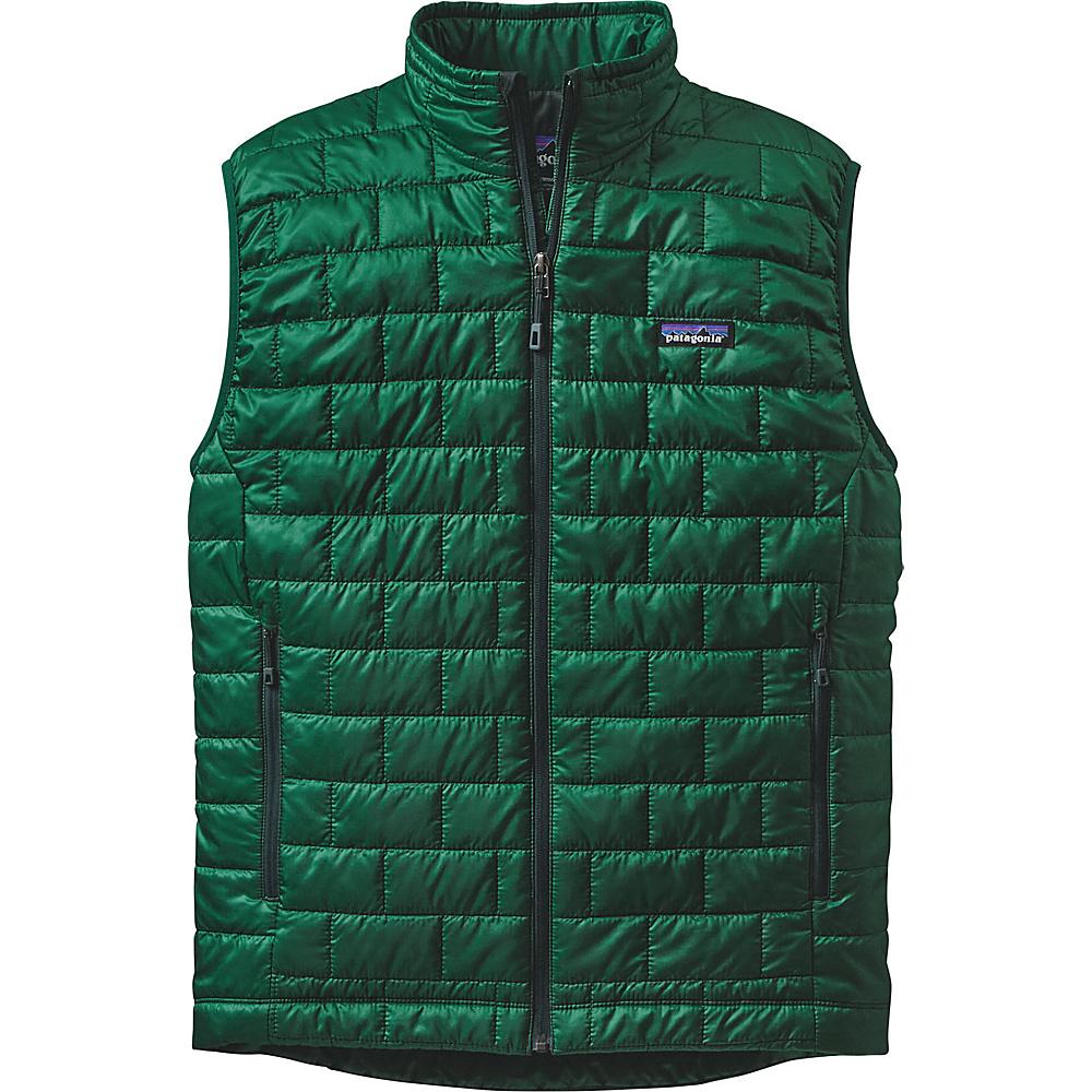 Patagonia Mens Nano Puff Vest XS - Legend Green - Patagonia Mens Apparel - Apparel & Footwear, Men's Apparel