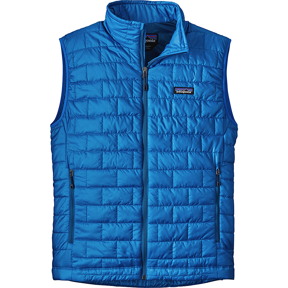 Patagonia Mens Nano Puff Vest M - Andes Blue - Patagonia Mens Apparel - Apparel & Footwear, Men's Apparel