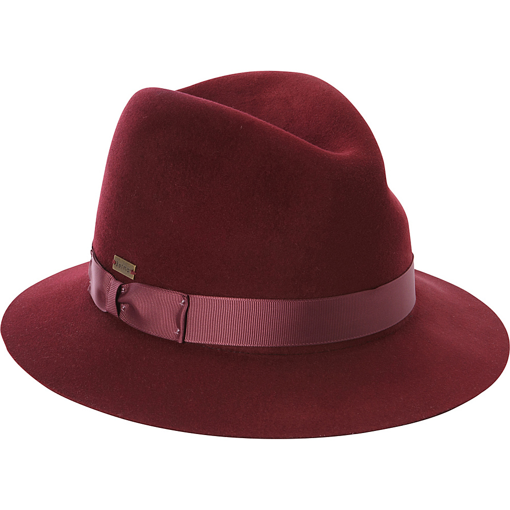 Betmar New York Colleen Fedora Chestnut Roast-Medium/Large - Betmar New York Hats/Gloves/Scarves