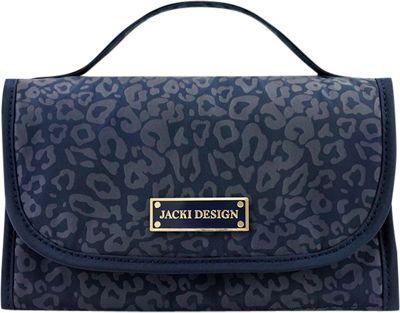 Jacki Design Miss Chantelle Cosmetic Organizer Bag Blue - Jacki Design Toiletry Kits 10477936