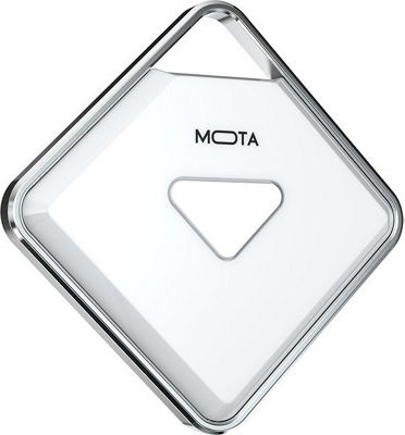 Mota Smartphone Anti-Lost Bluetooth Companion And Remote Camera Trigger White - Mota Trackers & Locators