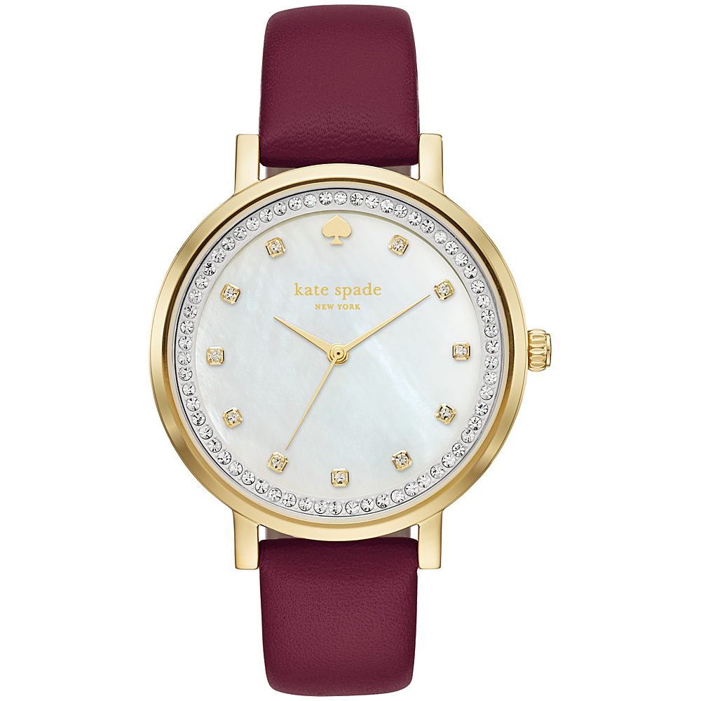 kate spade watches Monterey Watch Red kate spade watches Watches
