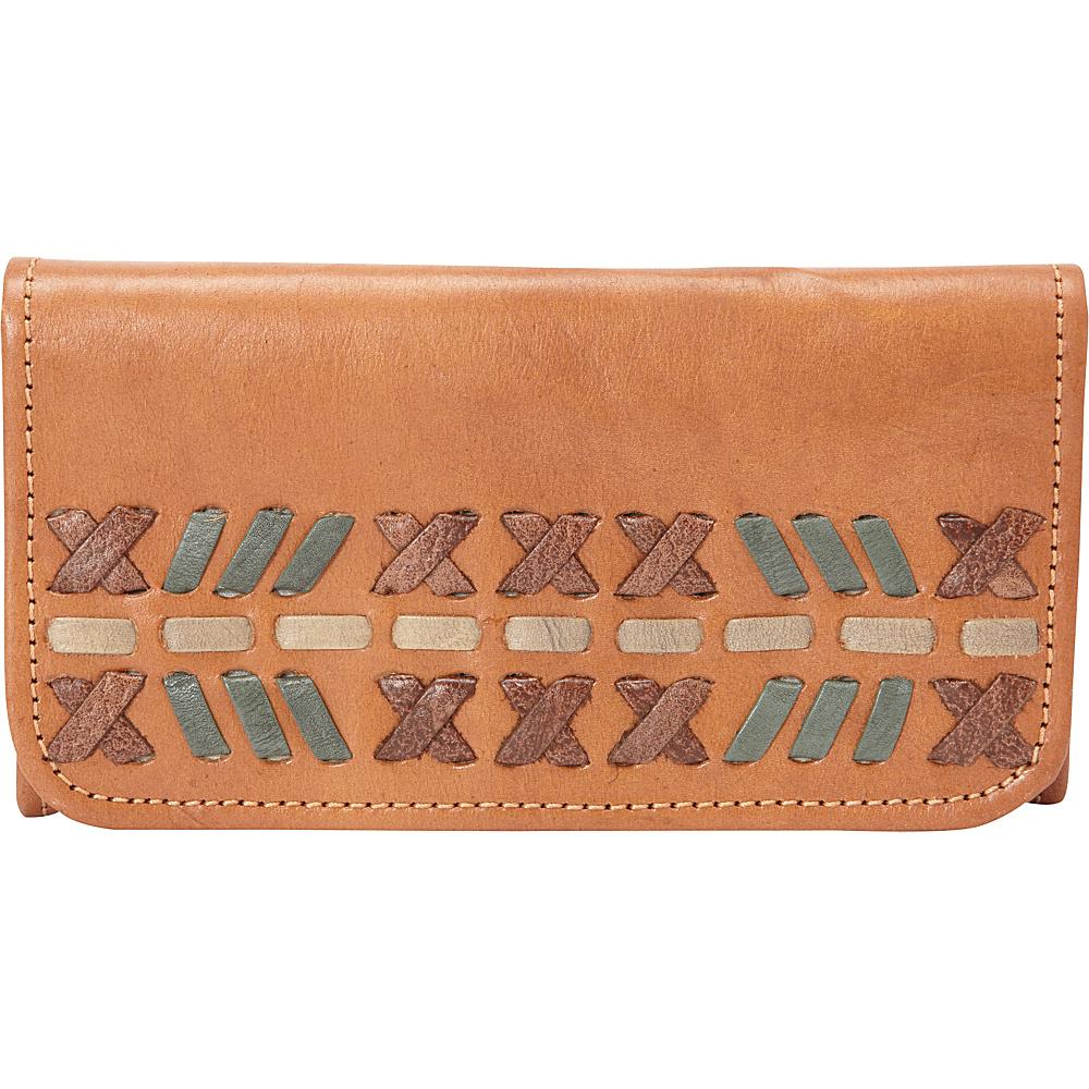 American West Mohican Melody Tri Fold Wallet Golden Tan American West Women s Wallets