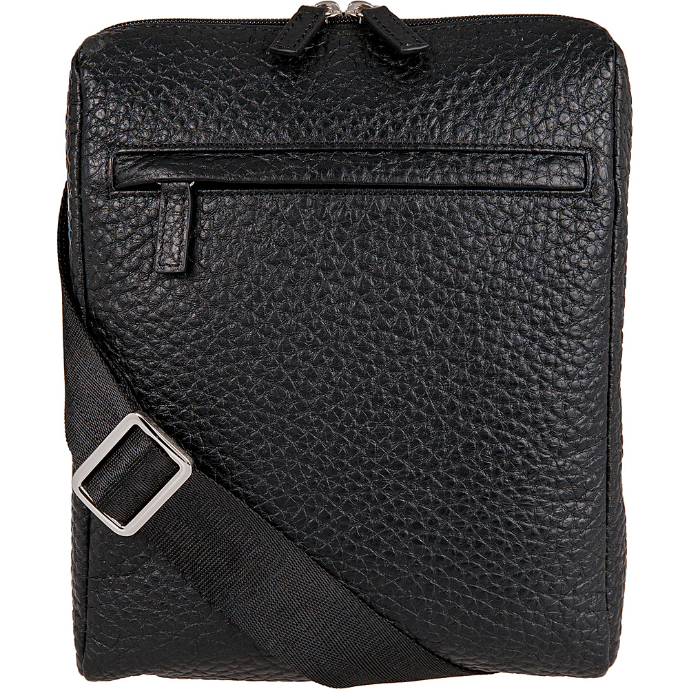 Lodis Borrego Under Lock and Key James Small Messenger Black - Lodis Messenger Bags - Work Bags & Briefcases, Messenger Bags