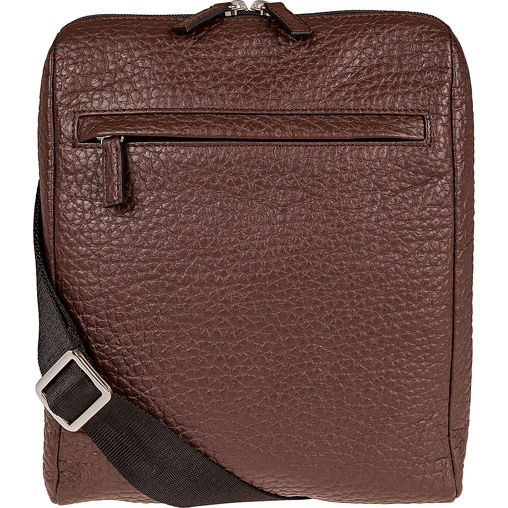 Lodis Borrego Under Lock and Key James Small Messenger Dark Brown - Lodis Messenger Bags - Work Bags & Briefcases, Messenger Bags