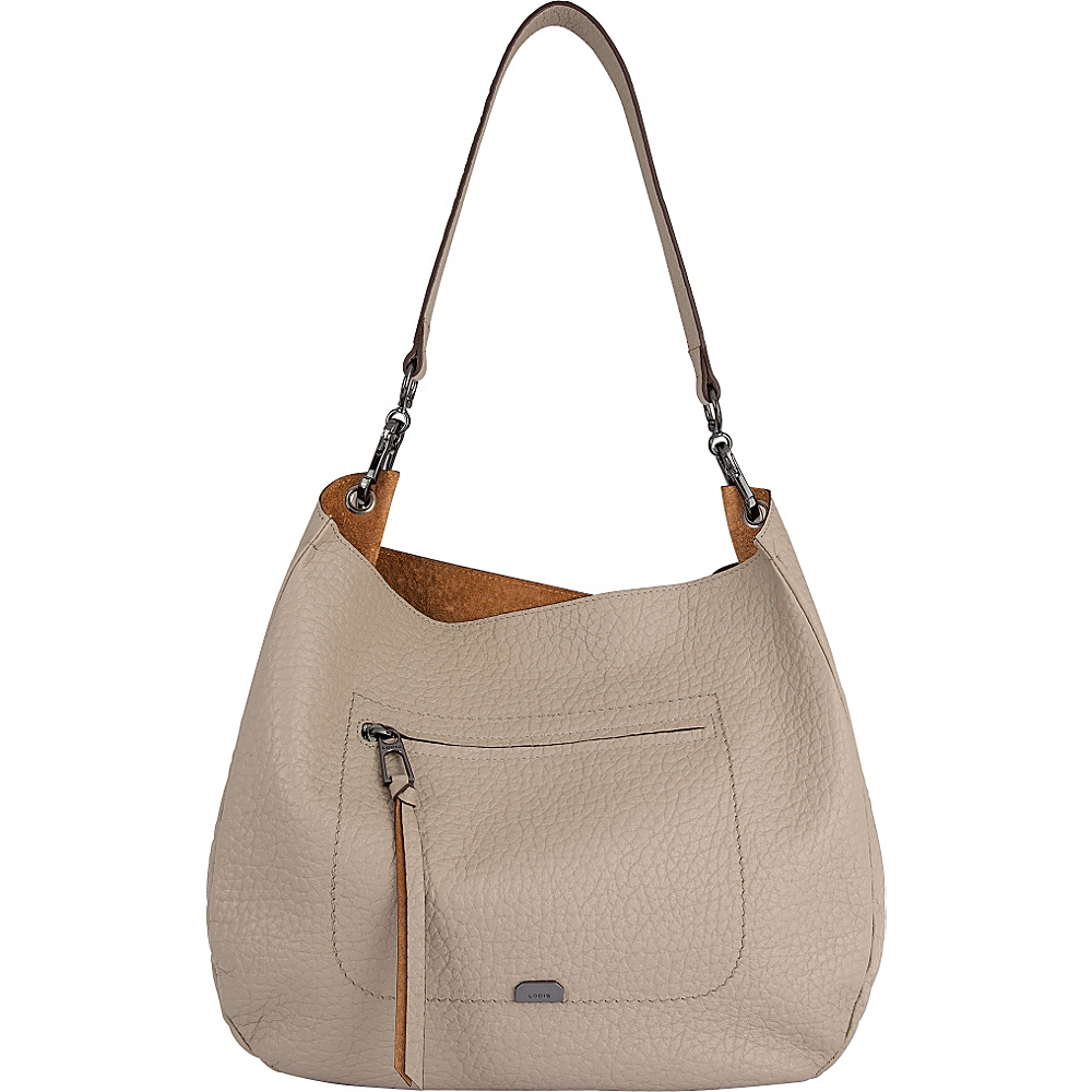 Lodis Borrego Under Lock and Key Nanda Hobo Taupe - Lodis Leather Handbags - Handbags, Leather Handbags