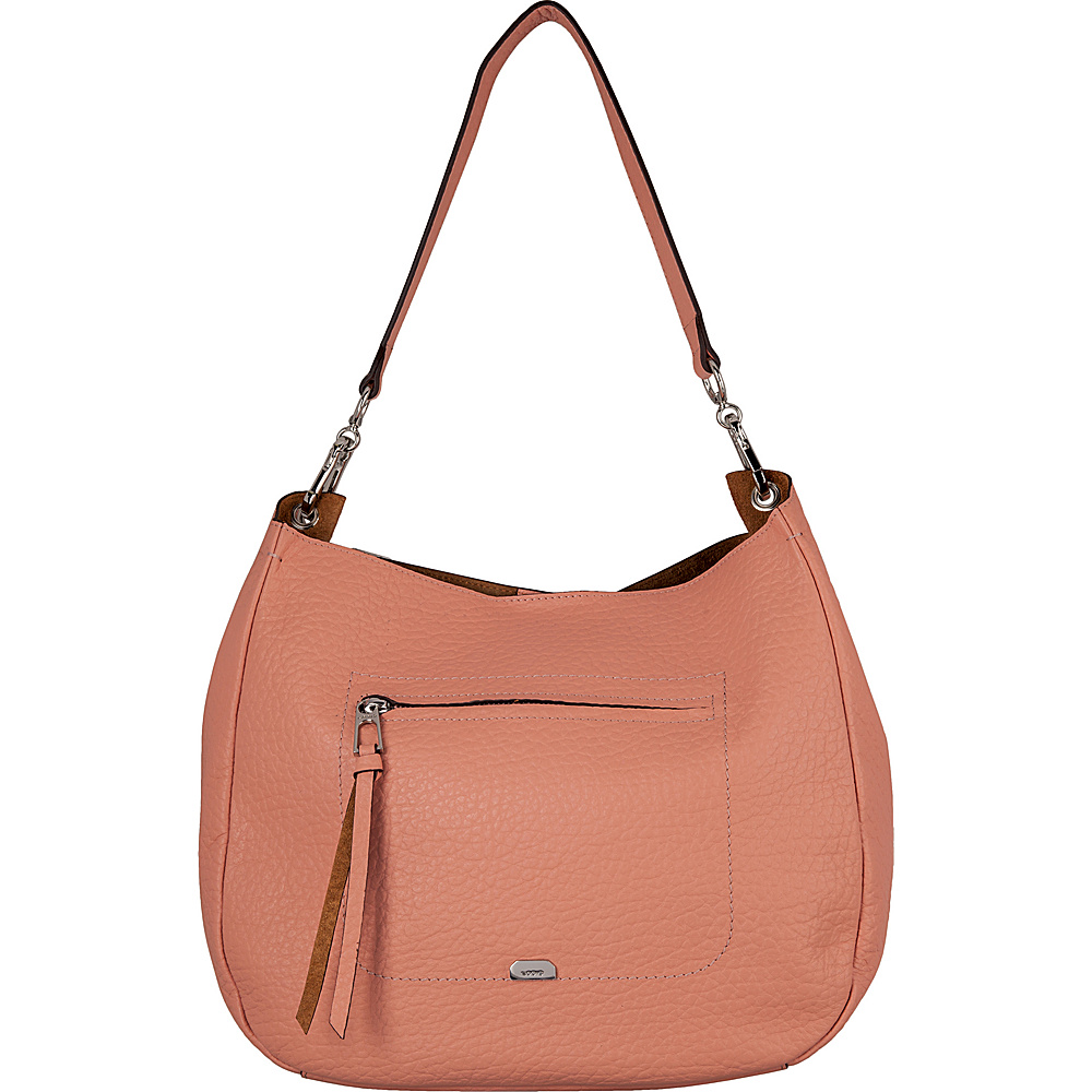 Lodis Borrego Under Lock and Key Nanda Hobo Blush - Lodis Leather Handbags - Handbags, Leather Handbags