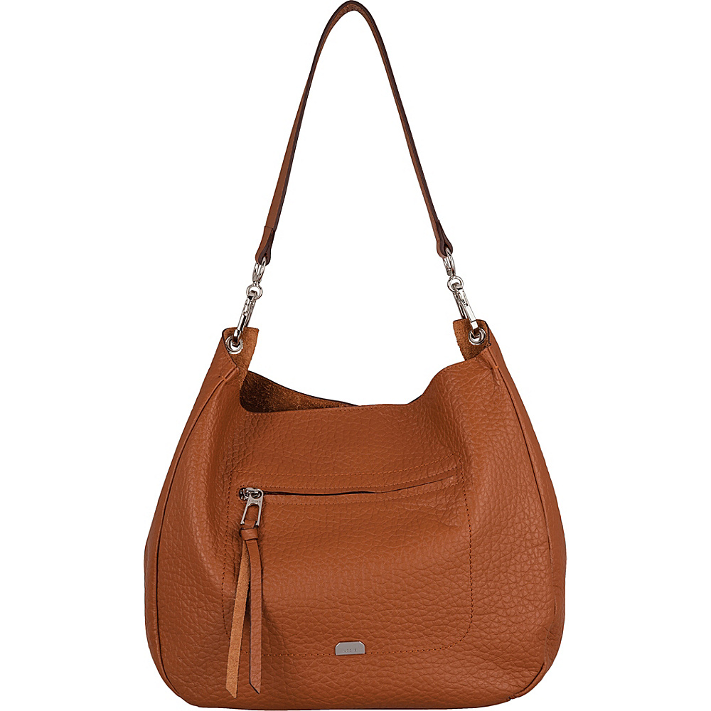 Lodis Borrego Under Lock and Key Nanda Hobo Toffee - Lodis Leather Handbags - Handbags, Leather Handbags
