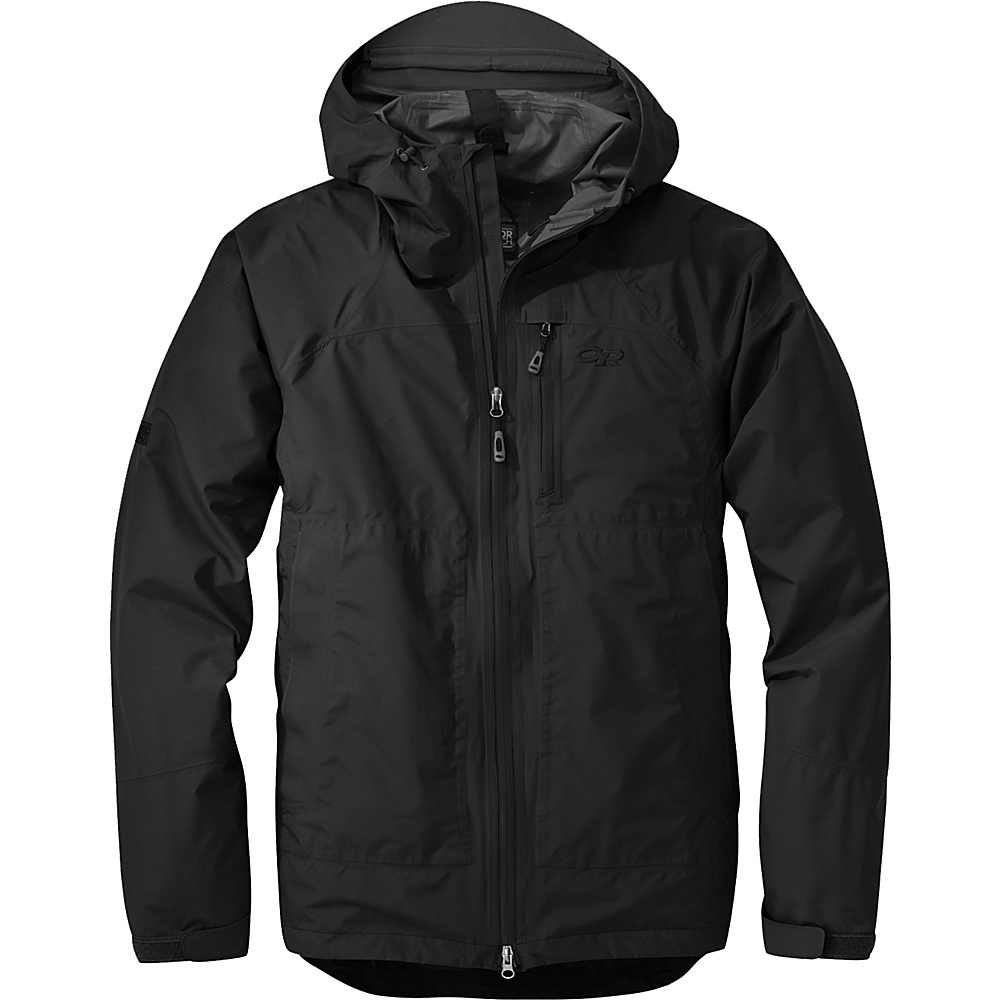 Outdoor Research Foray Jacket S - Black - Outdoor Research Mens Apparel - Apparel & Footwear, Men's Apparel