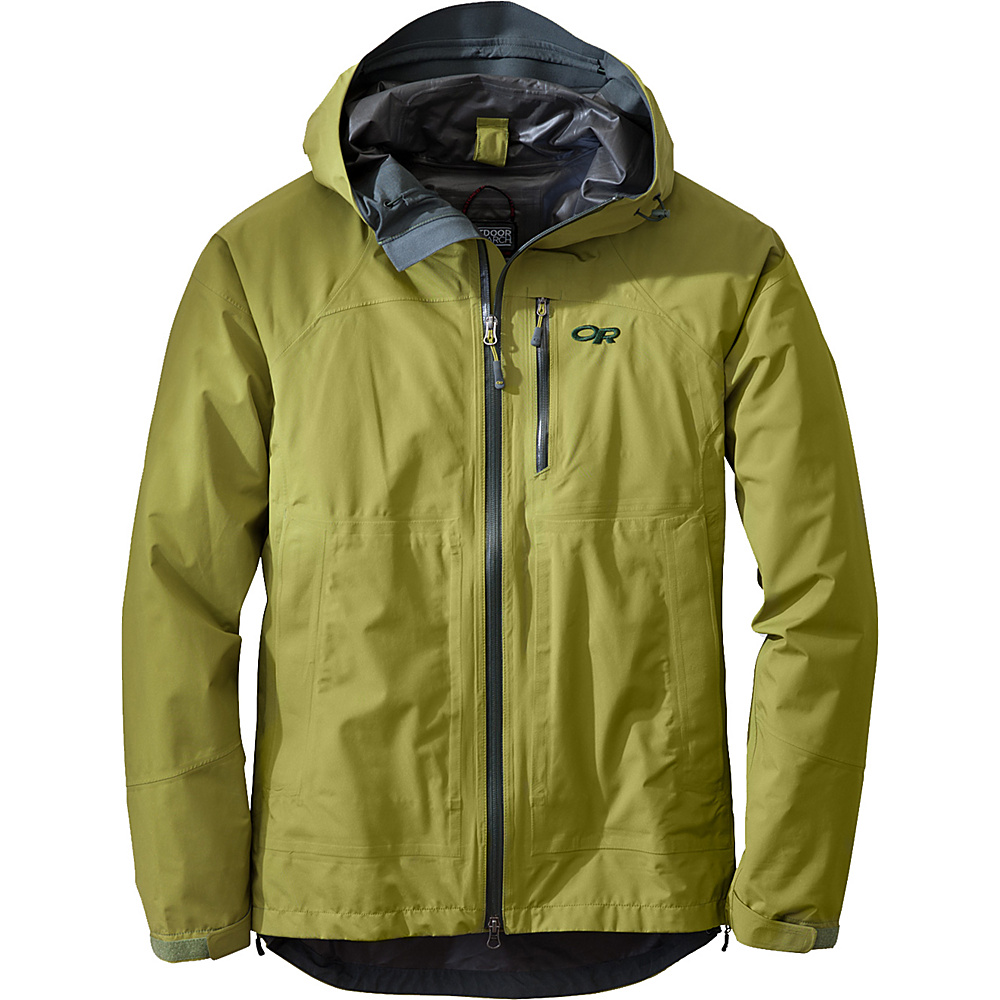 Outdoor Research Foray Jacket XL - Hops - Outdoor Research Mens Apparel - Apparel & Footwear, Men's Apparel