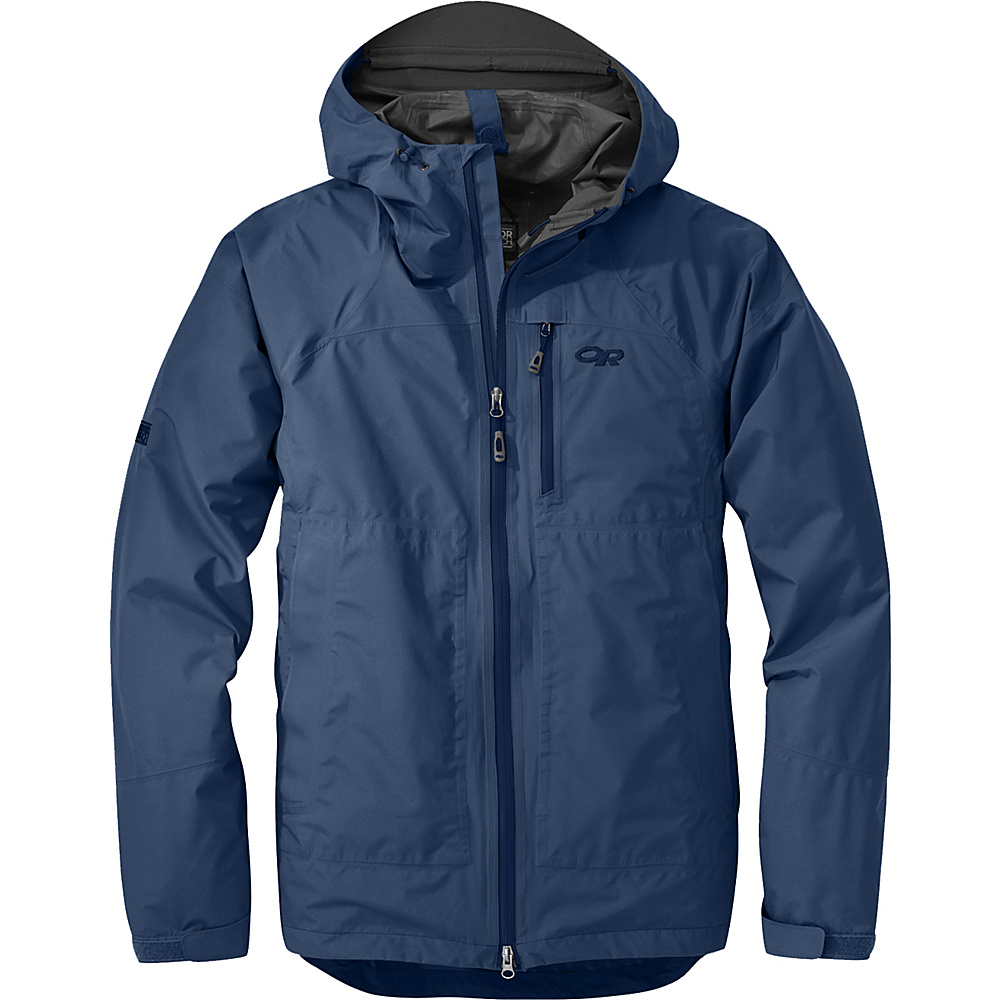 Outdoor Research Foray Jacket L - Dusk - Outdoor Research Mens Apparel - Apparel & Footwear, Men's Apparel