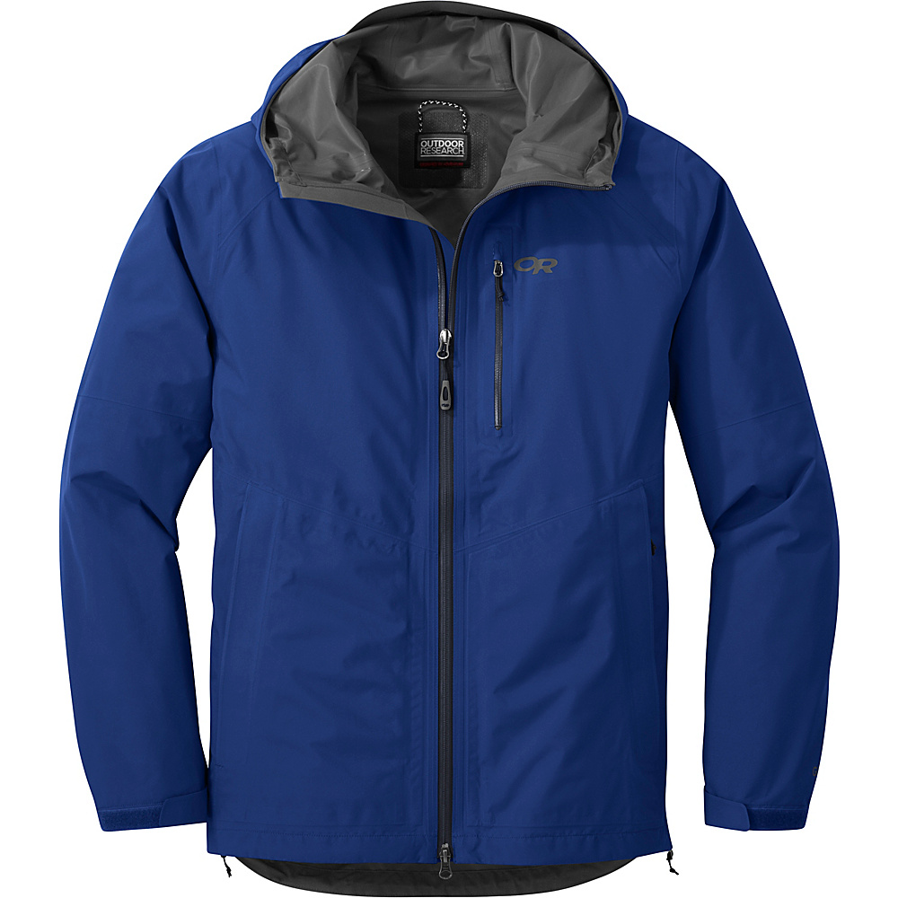 Outdoor Research Foray Jacket XL - Baltic - Outdoor Research Mens Apparel - Apparel & Footwear, Men's Apparel