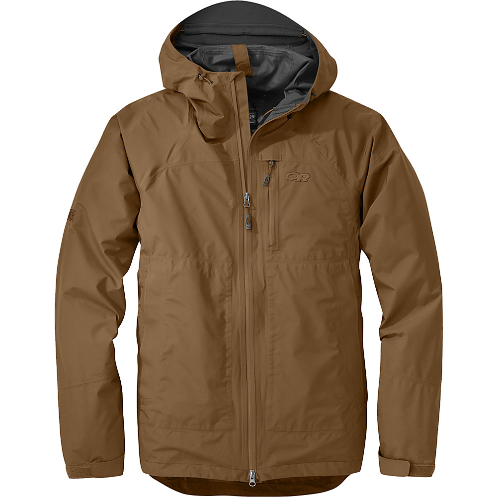 Outdoor Research Foray Jacket S - Coyote - Outdoor Research Mens Apparel - Apparel & Footwear, Men's Apparel