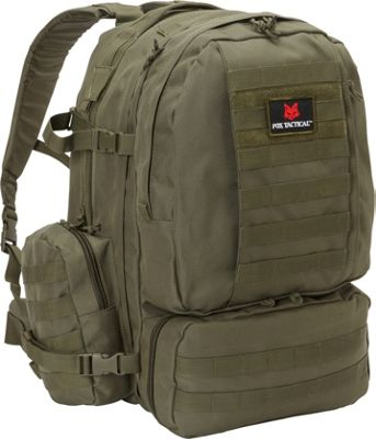 Fox Outdoor Advanced 3-Day Combat Pack Olive Drab - Fox Outdoor Day Hiking Backpacks
