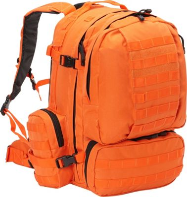 Fox Outdoor Advanced 3-Day Combat Pack Safety Orange - Fox Outdoor Day Hiking Backpacks
