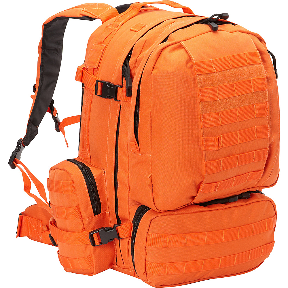 Fox Outdoor Advanced 3 Day Combat Pack Safety Orange Fox Outdoor Day Hiking Backpacks