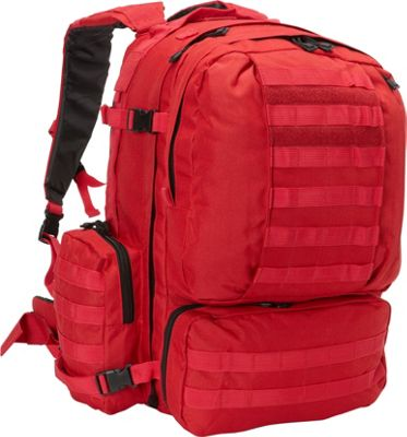 Fox Outdoor Advanced 3-Day Combat Pack Red - Fox Outdoor Day Hiking Backpacks