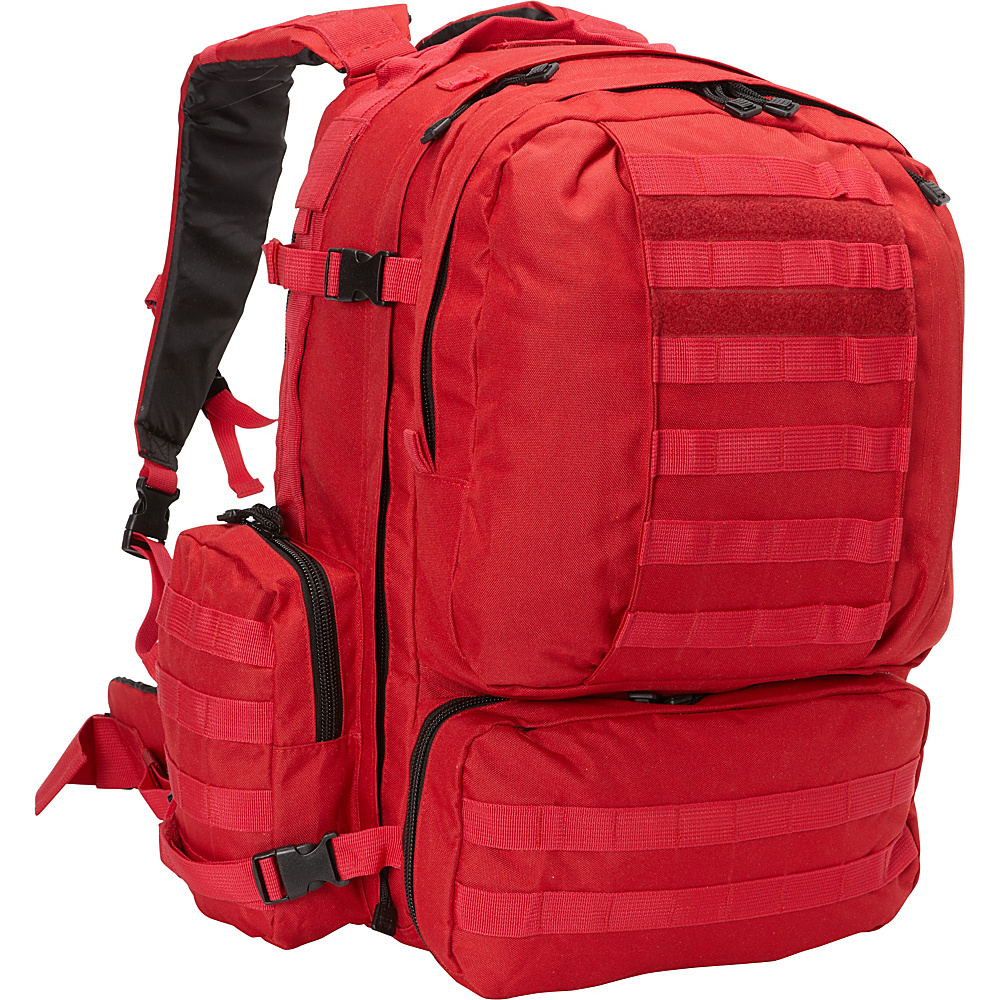 Fox Outdoor Advanced 3 Day Combat Pack Red Fox Outdoor Day Hiking Backpacks