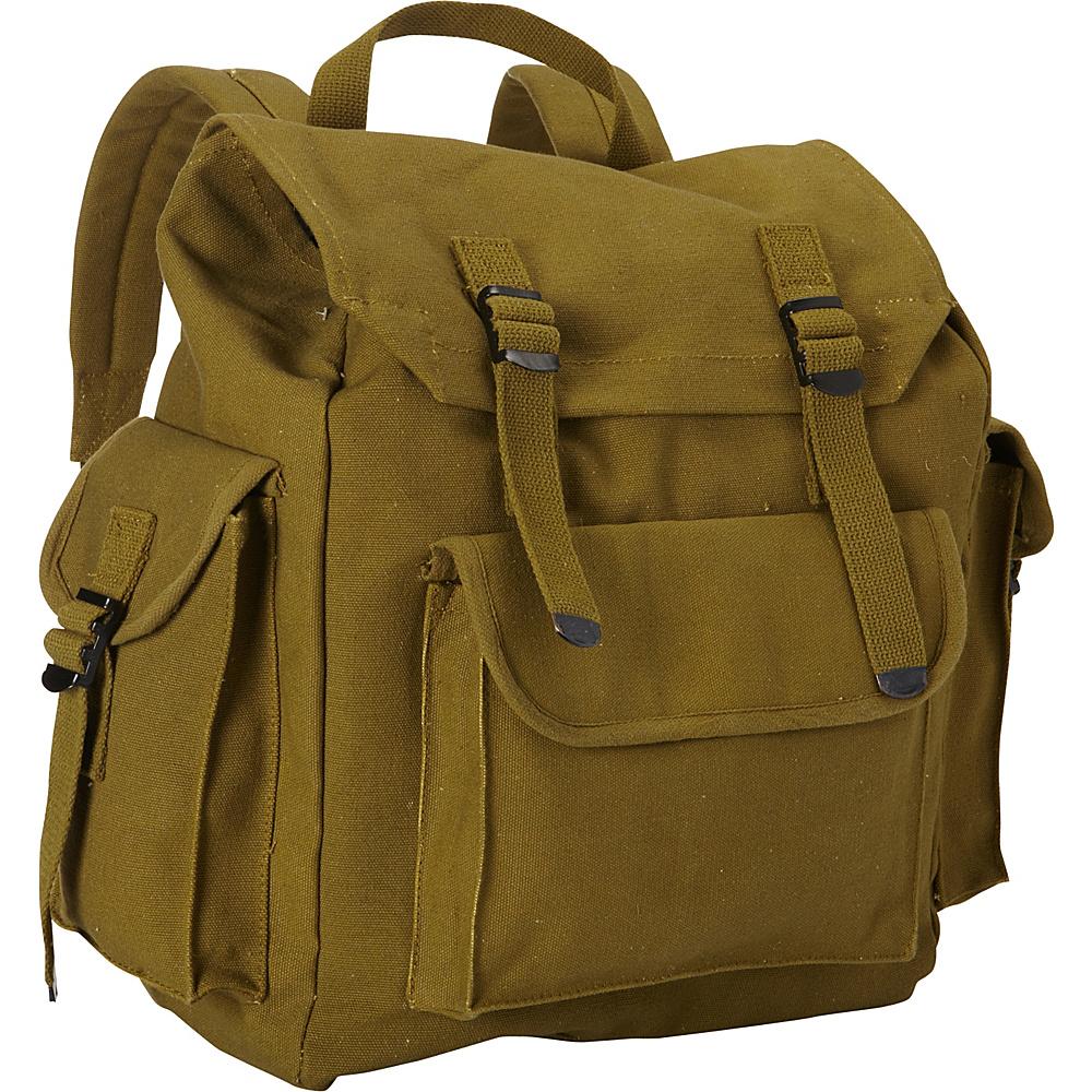 Fox Outdoor Hiker's Rucksack Olive Drab - Fox Outdoor Everyday Backpacks