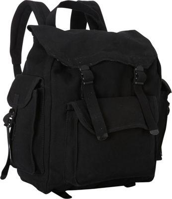Fox Outdoor Hiker's Rucksack Black - Fox Outdoor Everyday Backpacks