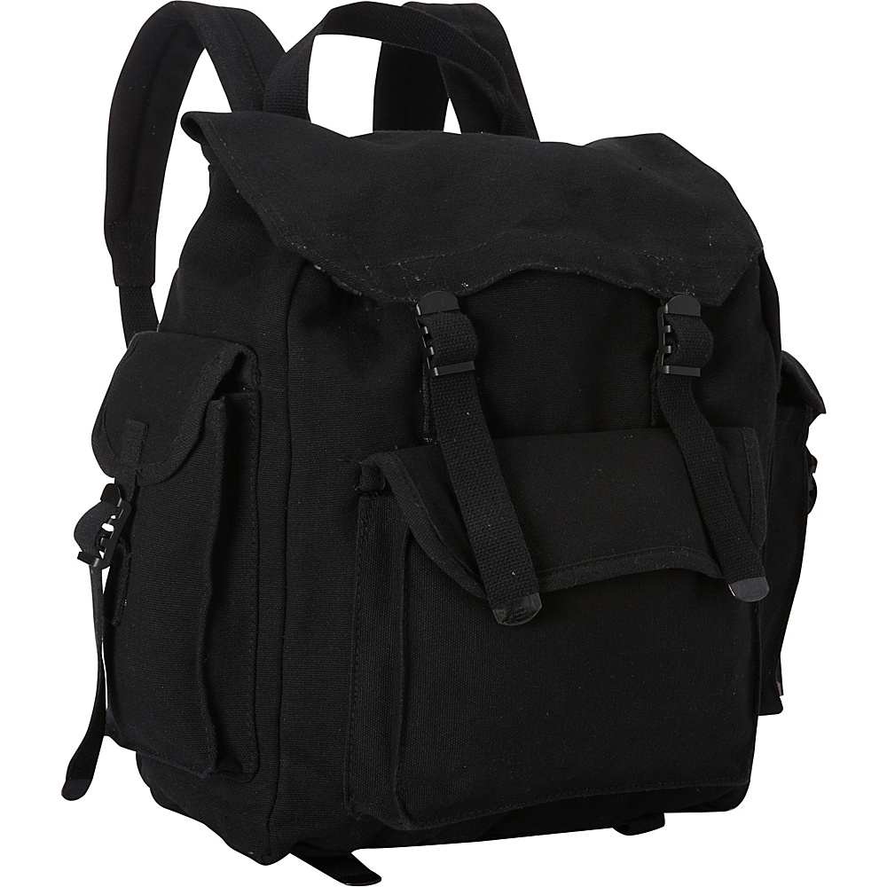 Fox Outdoor Hiker's Rucksack Black - Fox Outdoor Everyday Backpacks