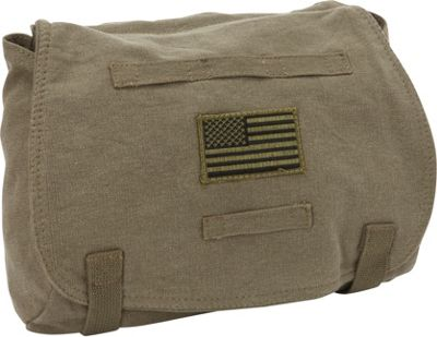 Fox Outdoor Retro Hungarian Shoulder Bag Olive Drab - USA - Fox Outdoor Other Men's Bags