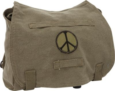Fox Outdoor Retro Hungarian Shoulder Bag Olive Drab - Peace - Fox Outdoor Other Men's Bags