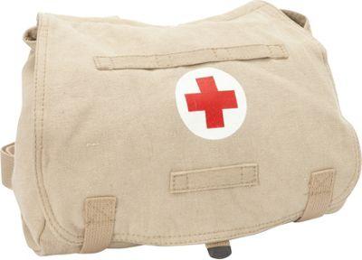 Fox Outdoor Retro Hungarian Shoulder Bag Khaki - Red Cross - Fox Outdoor Other Men's Bags
