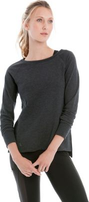 Lole Saya Top S - Black Heather - Lole Women's Apparel