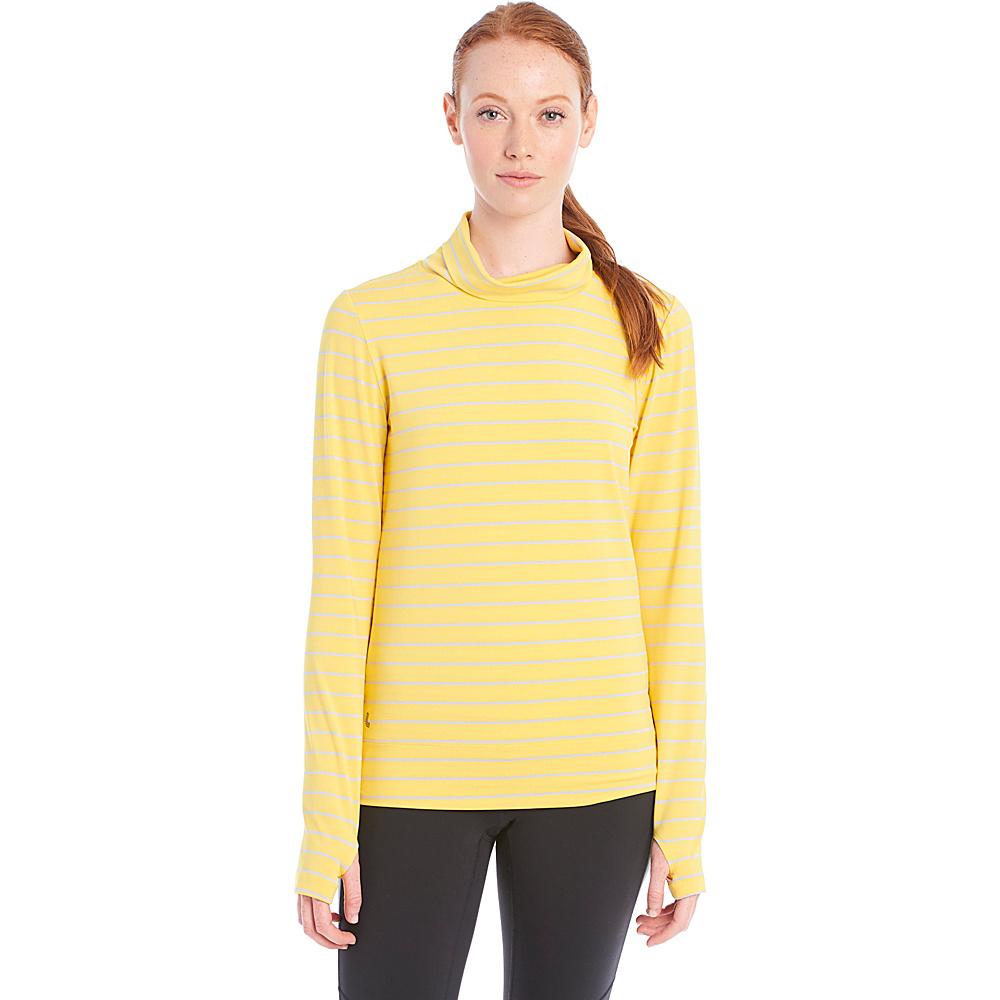 Lole Gloria Top S - Mimosa Stripe - Lole Womens Apparel - Apparel & Footwear, Women's Apparel