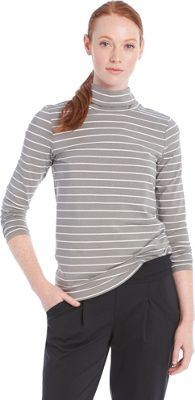 Lole Gloria Top L - Medium Grey Stripe - Lole Women's Apparel