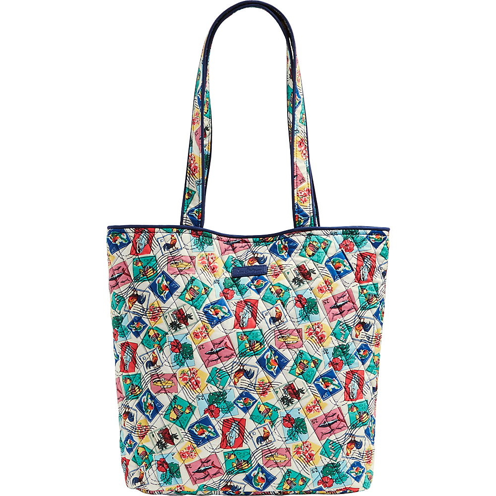 Vera Bradley Tote 2.0 - Retired Prints Cuban Stamps - Vera Bradley Fabric Handbags - Handbags, Fabric Handbags
