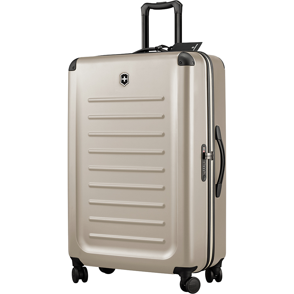 Victorinox Spectra 2.0 32 Luggage - Discontinued Colors Stone White - Victorinox Hardside Luggage