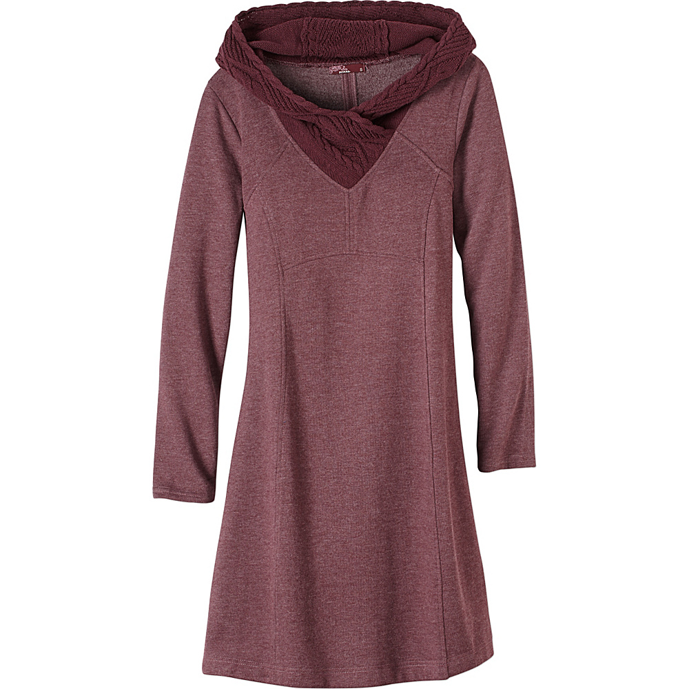 PrAna Maud Dress XL - Eggplant - PrAna Womens Apparel - Apparel & Footwear, Women's Apparel