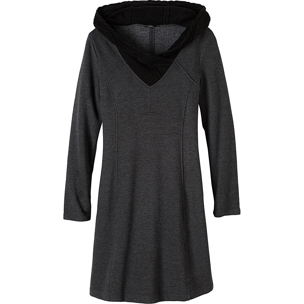 PrAna Maud Dress L - Black - PrAna Womens Apparel - Apparel & Footwear, Women's Apparel