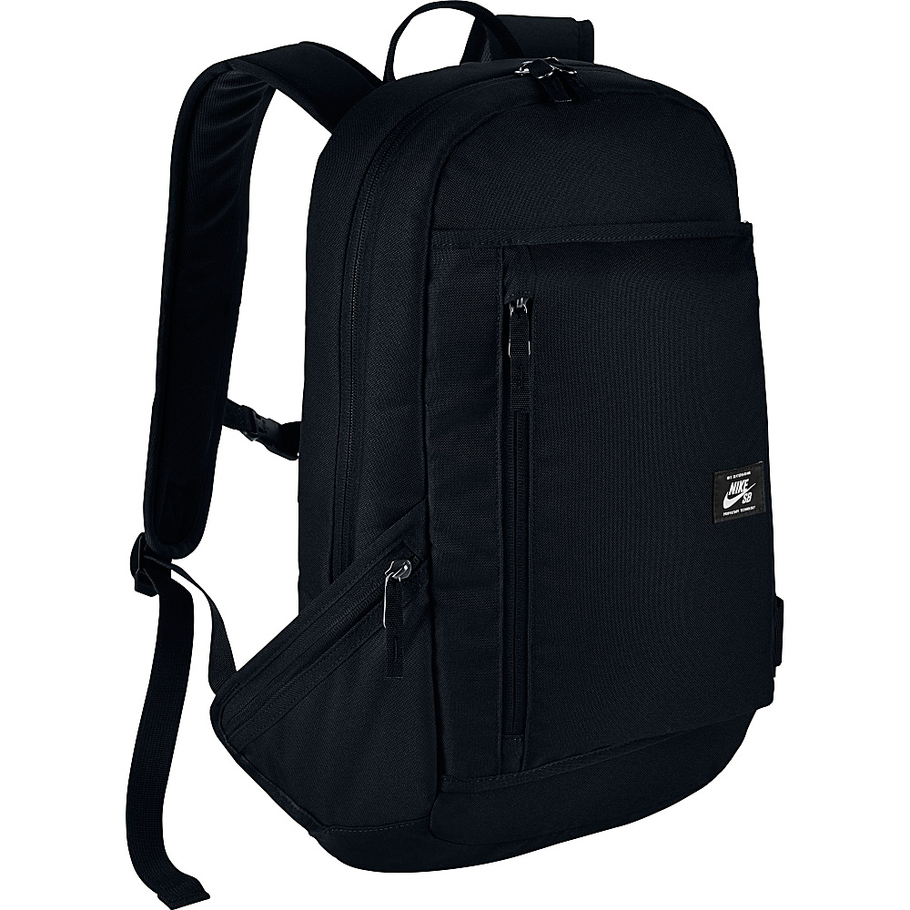 Nike SB Shelter Backpack Black Black White Nike Everyday Backpacks