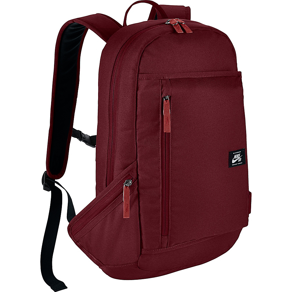 Nike SB Shelter Backpack Team Red Team Red White Nike Everyday Backpacks