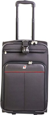 Andare Monterrey 22 inch 2 Wheel Upright Black - Andare Softside Carry-On