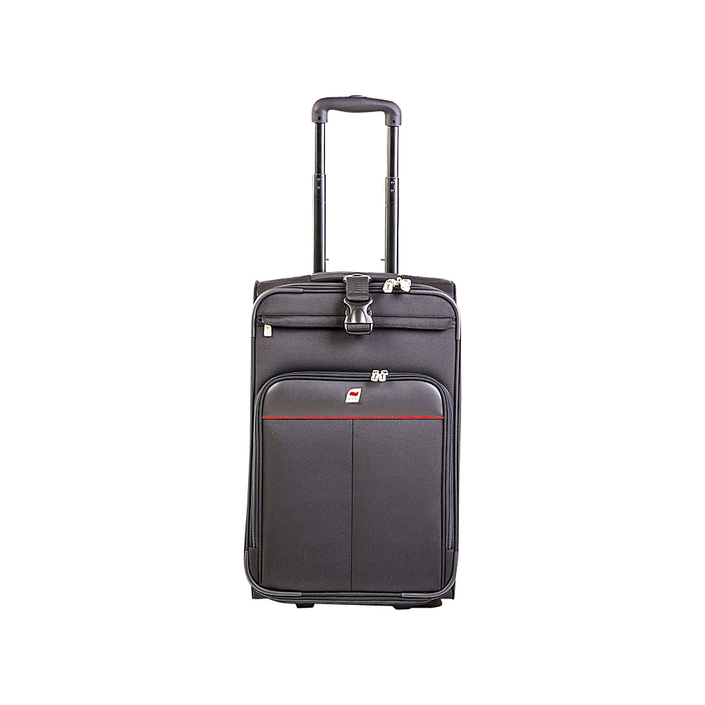Andare Monterrey 22 2 Wheel Upright Black Andare Softside Carry On