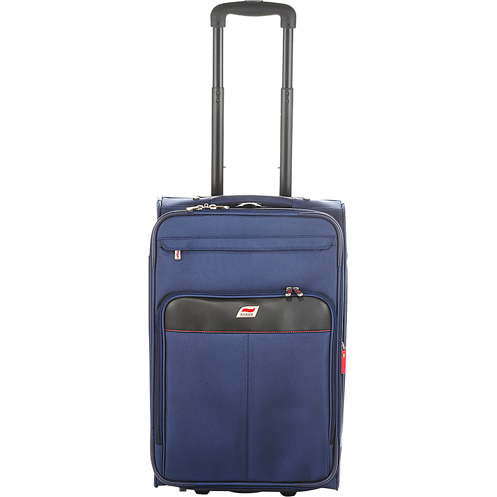 Andare Monterrey 22 2 Wheel Upright Navy Andare Softside Carry On