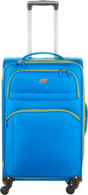 Andare Buenos Aires 25 inch 4 Wheel Spinner Upright Cobalt - Andare Softside Checked