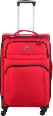 Andare Buenos Aires 25 inch 4 Wheel Spinner Upright Garnet - Andare Softside Checked