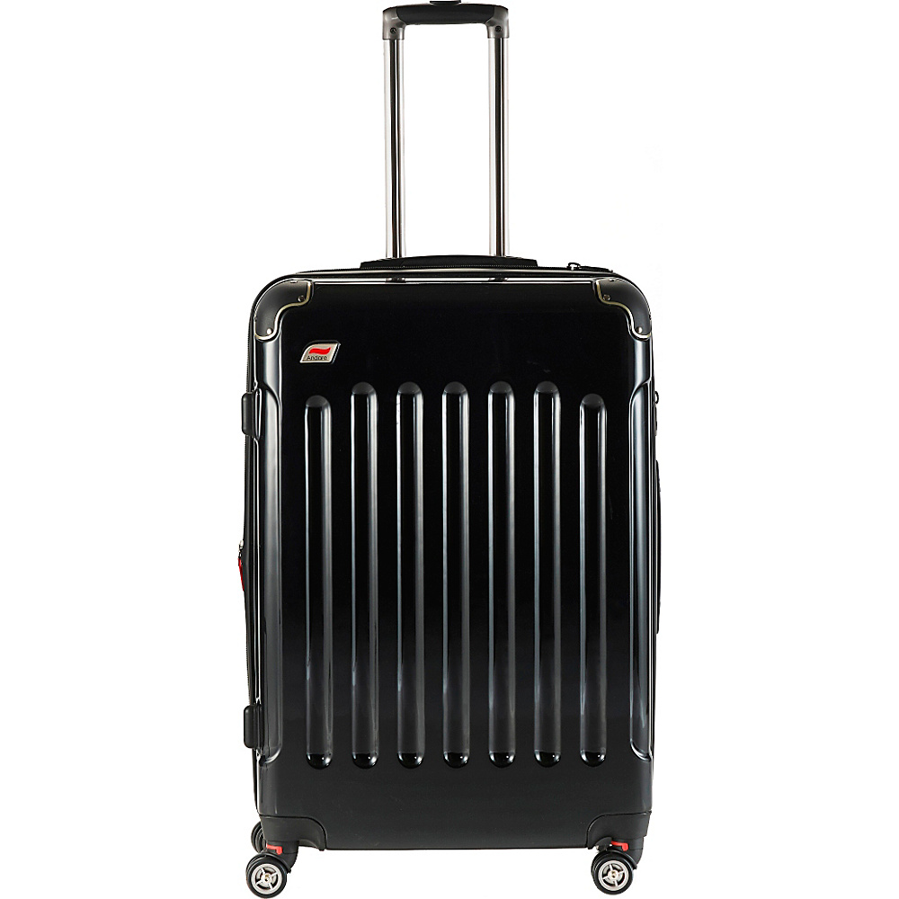 Andare Barcelona 24 8 Wheel Spinner Upright Onyx Andare Hardside Checked