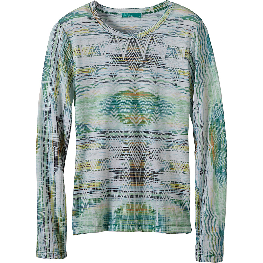 PrAna Binx Top M - Mineral Green - PrAna Womens Apparel - Apparel & Footwear, Women's Apparel