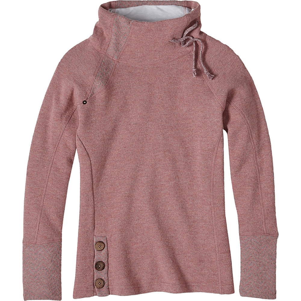 PrAna Lucia Sweater XL - Light Mauve - PrAna Womens Apparel - Apparel & Footwear, Women's Apparel