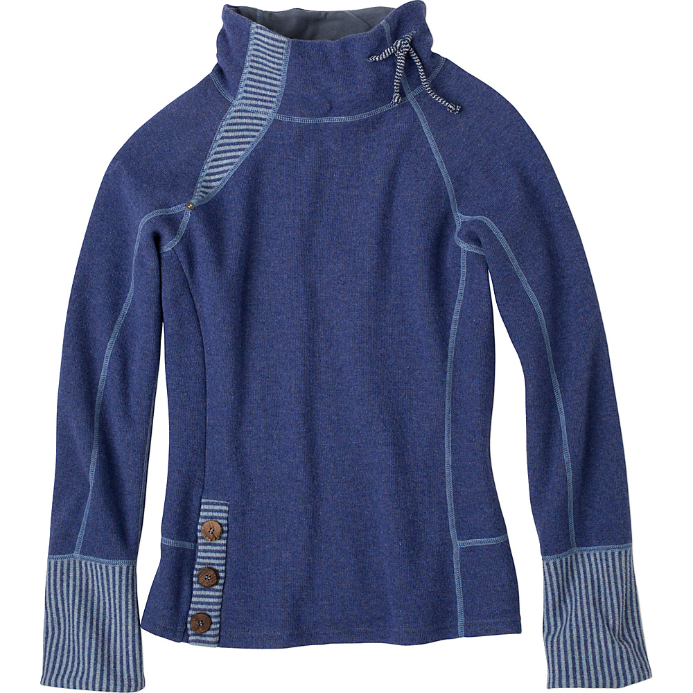 PrAna Lucia Sweater XL - Bluebell - PrAna Womens Apparel - Apparel & Footwear, Women's Apparel